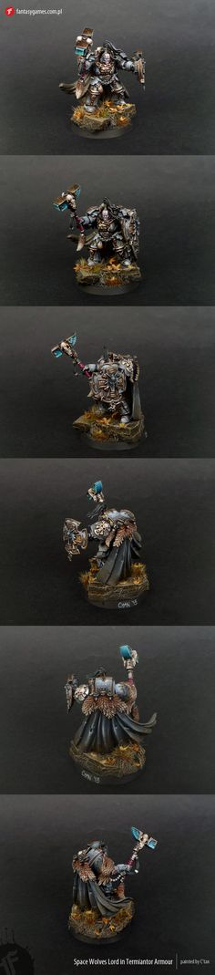 Space Wolves Lord in Terminator Armour