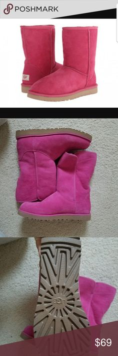 Brand new women's authentic pink uggs. Beautiful women's pink uggs. UGG Shoes Winter & Rain Boots