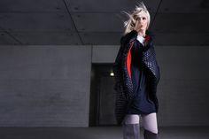 by Magda Hasiak: Stories  #magdahasiak #stories #fashion #womanfashion #blackdress #fashiondress #blackjacket #fashionjacket #nylonjacket  #elegantwoman #fashionlook #designerslook