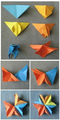 Modular Origami Star for Christmas -a Variation steps-star-original.jpg – Origami World Origami Wall Art, Origami 3d, Origami Star Box, Origami Dragon, Origami Love, Origami Fish, Modular Origami, Origami Folding, Origami Stars