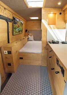 Vw Lt 35, Vw Lt Camper, Bus Interior, Fiat Ducato, Van Design, Narrowboat, Camper Conversion, Mobile Home, Campervan