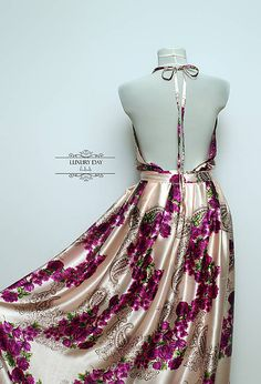 LUXURYday / šaty   motýlik FLOWER PINK