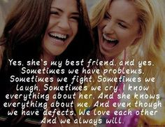 I had a big fight with my best friend over something so small that was my fault. I hope this quote helps our friendship re build. Friend Quotes For Girls, Besties Quotes, Girl Quotes, Bestfriends, Bffs, Best Friend Sister Quotes, Best Friend Birthday Quotes, Quotes Quotes, Soul Sister Quotes