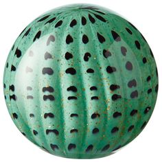 Azua Glass Paperweight - Green | OKA