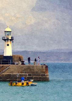 Cornwall, Harbour Entrance.  To see my full collection of pictures please visit my website at http://images21.webs.com