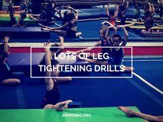 Lots of leg tightening drills - www.swingbig.org