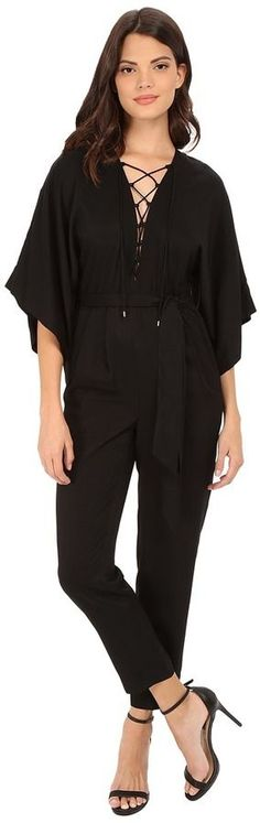 Rachel Zoe Mirabel Lace Up Jumpsuit