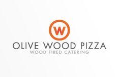 Minimalist, Elegant Logo Design for Catering Company in Los Angeles, California. http://jpwdesignstudio.com/olive-wood-pizza/