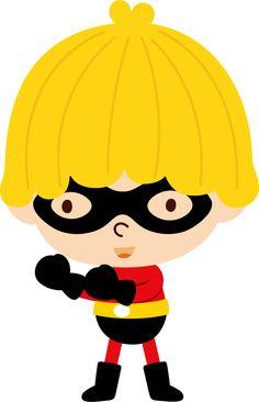 Super Heróis - Minus Superhero Clipart, Superhero Party, Spiderman, Door Crafts, Cute Clipart, Batman Robin, Cute Images, Batgirl, Paper Piecing
