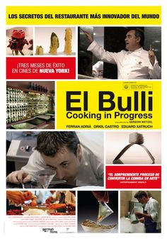 Proyección 6 de Julio 2015. 19:00 Multicines Aribau. https://screen.ly/evento/11/el-bulli-cooking-in-progress-aribau-multicines/