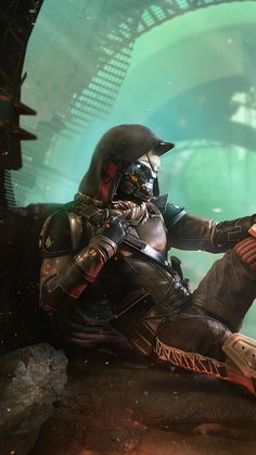 Best 8 Destiny Wallpaper For Your Android or Iphone Wallpapers Destiny Cayde 6, Destiny Comic, Destiny Hunter, Destiny Bungie, Destiny Fallen, Destiny Backgrounds, Character Art, Character Design, Character Ideas