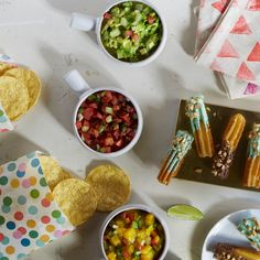 Curate your own cantina with mini snacks. 