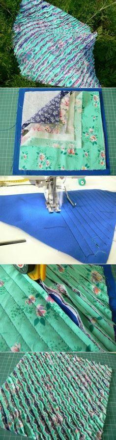 Изготовление ткани в технике синель (Chenille, шениль) - Brother-Friends.Ru Brother-Friends.Ru