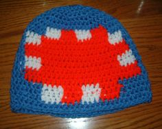 From Minecraft, iBallistic Squid crocheted hat Minecraft Teddy, Minecraft Hat, Vintage Marketplace, Crochet For Kids, Youtubers, Crochet Hats, Group, Board, Projects