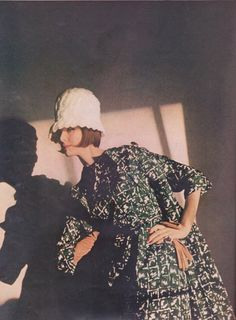 Harper's Bazaar editorial shot by Saul Leiter 1961