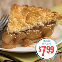It's a sweet treat with an even sweeter price! #applepie #pie #mariecallenders