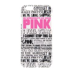 Mean Girls On Wednesdays We Wear Pink Cover for iPhone 6