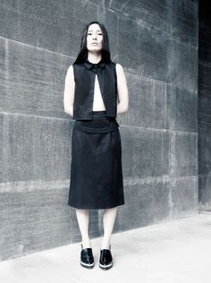 EMBRACE BRAND is an emerging contemporary fashion brand.The brand speaks to women with a strong personal identity and an eclectic and innate style. Personal Identity, Cotton Skirt, Ss 15, Contemporary Fashion, Black Cotton, Fashion Brand, Fashion Photography, Women Wear, Normcore