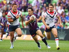 Cooper Cronk from the Melbourne Storm