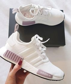 womens running shoes trainers NMD white and purple pink adidas shoes, . - womens running shoes trainers NMD white and purple pink adidas shoes, … womens running shoes trainers NMD white and purple pink adidas shoes, Pink Adidas Shoes, Adidas Running Shoes, Running Trainers, Nike Running, Cute Running Shoes, Cool Adidas Shoes, Adidas Shoes Nmd, Adidas Nmd Women Outfit, White Addidas Shoes