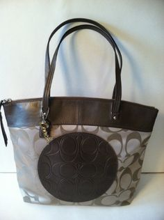 COACH SIGNATURE TOTE retail 298.00 on sale for $149.99 at blomming.com/mm/giaconisboutique/items  mention pinterest and get 10.00 off