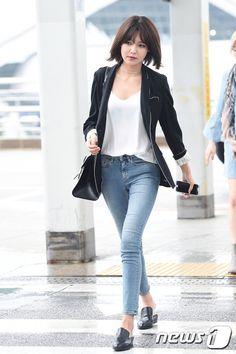 【フォト】テヨンがカメラさんに変身?!少女時代が台湾に向けて出国<1>