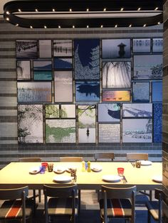 Park Hyatt Hangzhou, by Yabu Pushelberg Yabu Pushelberg, Noodle Bar, Aesthetic Experience, World Clock, Salon Style, Cafe Bar, Wall Treatments, Restaurant Bar, Wall Design