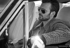 New Photo: Chris Evans for InStyle Magazine (May 2016). #ChrisEvans #InStyle #Photoshoot #BlackAndWhite #Chris #Evans #Cevans #TeamCevans