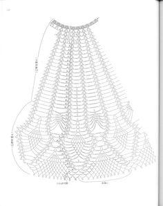 菠萝之——灵动 - choiyoba - 卑尘    缕 Crochet Skirt Pattern, Crochet Skirts, Crochet Tank, Crochet Chart, Love Crochet, Beautiful Crochet, Crochet Clothes, Knit Crochet, Crochet Patterns