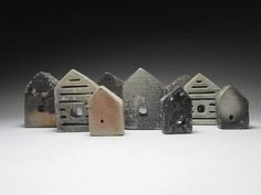 Home page of Sarah Logan Ceramics. Ceramic Sculptures and fine line drawings by Sarah Logan. Ceramic Houses, American Crafts, New Artists, Plan Your Trip, Line Drawing, Home Art, Logan, Art Projects, Sculptures