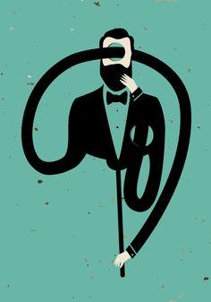 Ernesto #poster #plakat #design #illustration #print