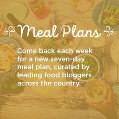 Weekly meal plans from our ALDI bloggers