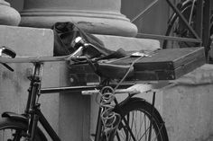 bici con valigia