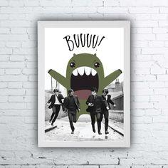 Quadro Beatles, quadro The Beatles, the Beatles poster, quadros divertidos