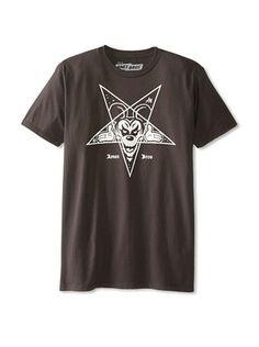 42% OFF Ames Bros Men's Black Meddle Crew Neck T-Shirt (Vintage Black)