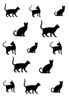 koty-grafika-do-pobrania-transfer-na-ateriał
