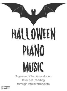 An extensive list of Halloween piano music for students of all ages and levels! Included are digital sheet and Halloween piano book music resources. Piano Lessons, Music Lessons, James Music, Music Theory Games, Piano Recital, Halloween Music, List Of Resources, Piano Teaching, Learning Piano