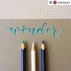 "1,539 Likes, 7 Comments - Lettering League (@letteringleague) on Instagram: ""Another excellent pencil piece by @sobisayed! Love the white highlights . It's awesome seeing all…"""