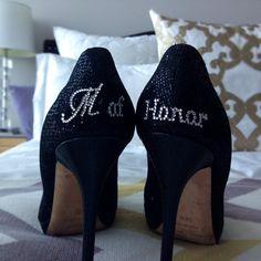 Zapato de dama de Honor