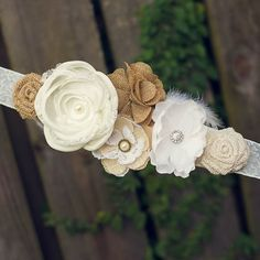 Bridal Sash Wedding Ideas Rustic Cottage Chic Burlap Country Neutral Ivory White Beige Tan. Maternity Sash. Gender Neutral. www.lovemyhero.etsy.com