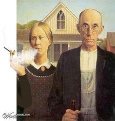 Parodies De American Gothic