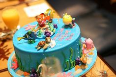 nemo cakes | ... birthday extravaganza- Finding Nemo cake. It was a show stopper