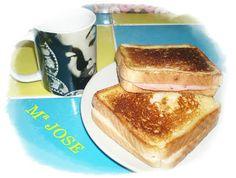 Este tipo de sandwich es muy popular en las cafeterías de España, y suele ser servido como desayuno acompañado por regla general de un café con leche.En España, en la época de los cafés de tertulia del siglo XIX, era muy habitual servir este tipo de desayuno.