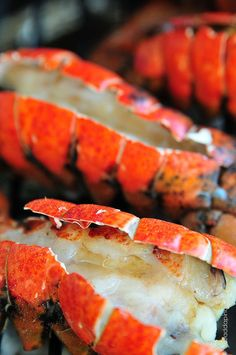 Smoked Lobster Tails Recipe - Cooking | Add a Pinch | Robyn Stone