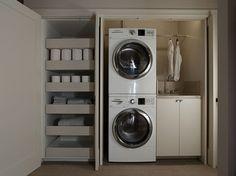 Atherton, CA Contemporary Elegance contemporary-laundry-room