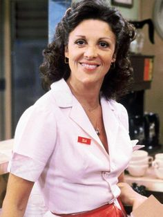 """Linda Lavin as Alice Hyatt on the hit series ALICE, based on the movie, """"Alice Doesn't Live Here Anymore"""" Tv Moms, Playboy, Movie Tv, Actresses, Celebrities, Coat, Awards, Alice, Entertainment"""