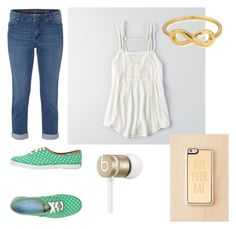 """Untitled #22"" by leahb109 on Polyvore featuring White Stuff, American Eagle Outfitters, Keds, ChloBo, Zero Gravity and Beats by Dr. Dre"