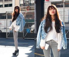How to Wear Houndstooth Pants: Looks from the Blogsphere! – WONDERMIKA