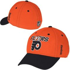 9e6503c4 Reebok Philadelphia Flyers NHL Center Ice Second Season Structured Flex Hat