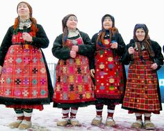 Russian babushkas are prepping up for the Eurovision contest. They dance and sing (in English) and are very very cute.